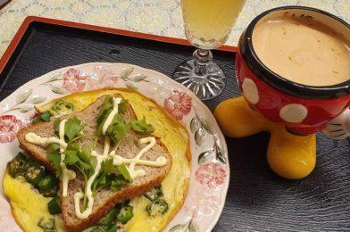 Healthy Breakfast: Okra Sandwich