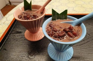 Red Bean Thai Riceberry Dessert