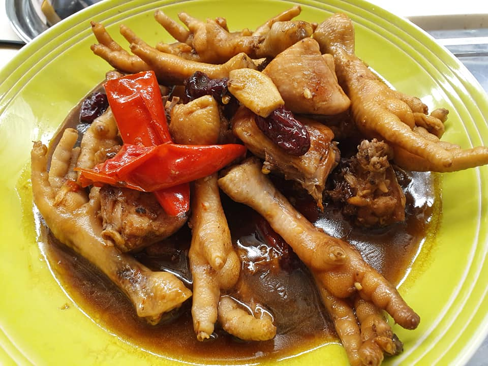 Braised Chicken Chinese Style