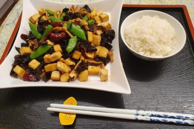 Another Meatless dish using Tau Kwa