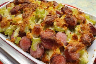 Sausage & Rice Au Gratin
