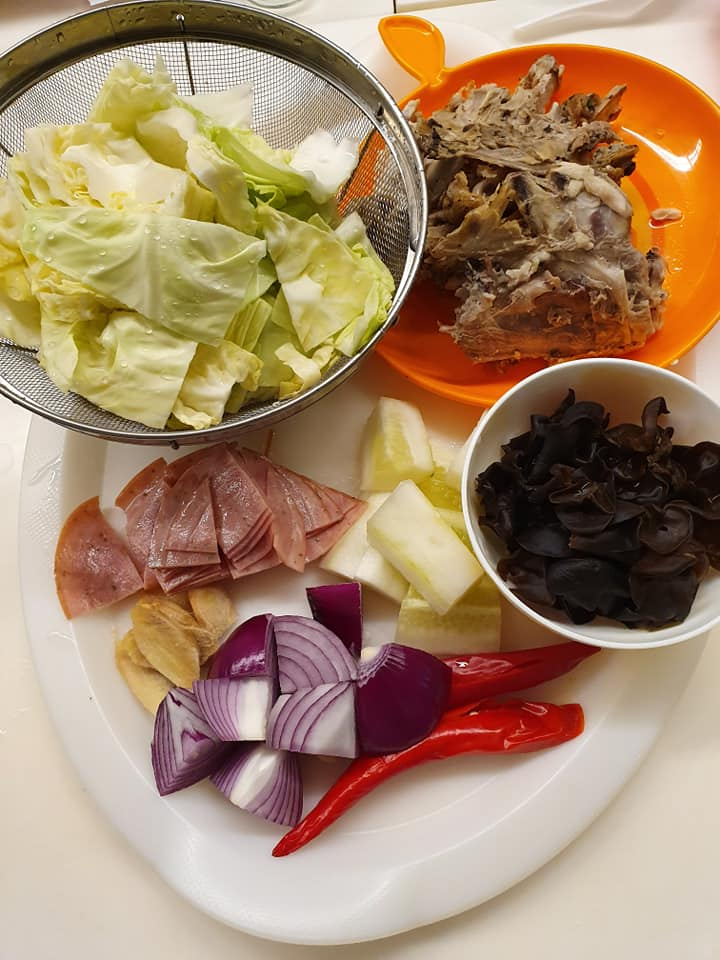 Ingredients for International Stew