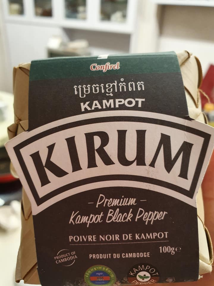 Khmer Black Peppercorn from Cambodia