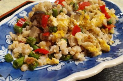 "Barley Grain ""Fried Rice"""