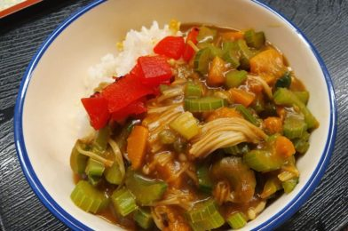 Japanese Curry with Pumpkin & Celery
