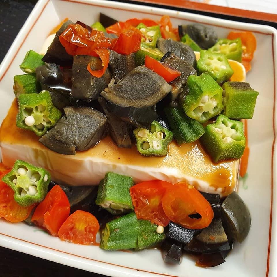 Century Egg Tofu Salad