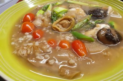 Healthy Barley Baby Abalone Chicken Treasure Potage