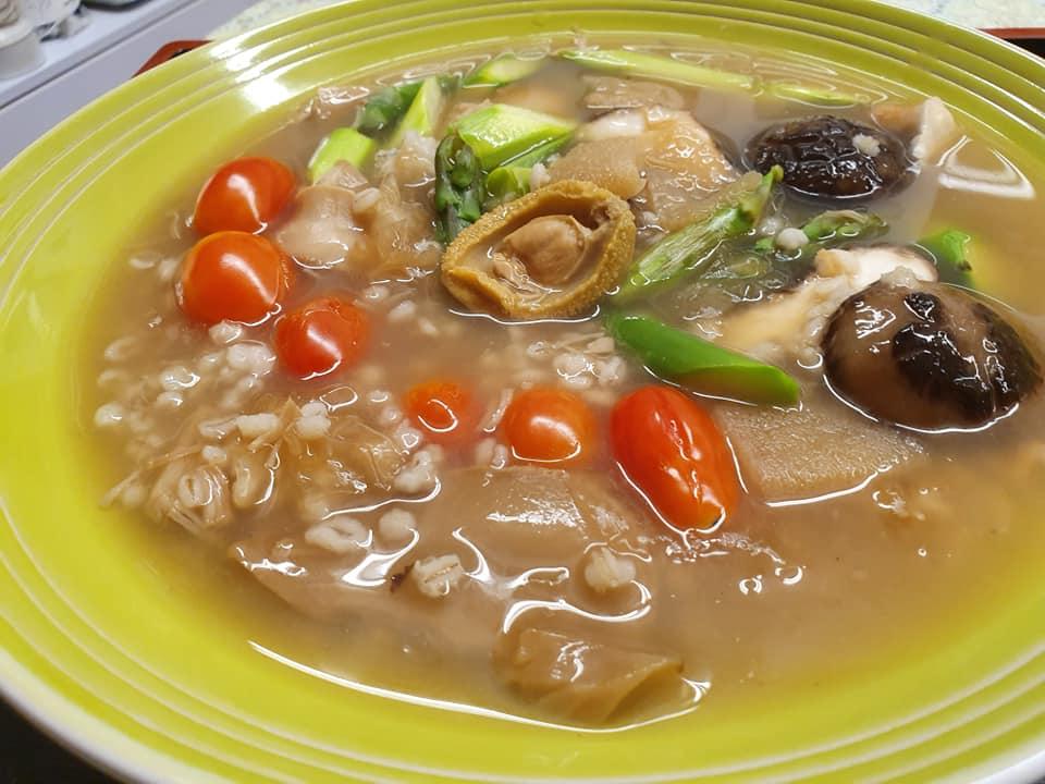Premium Baby Abalone Chicken Treasure Pot