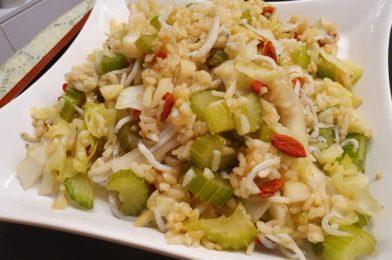 Cabbage & Shirasu Fried Rice