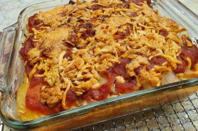 Bake Barramundi Fish with Potatoes, Onions & Cabbage