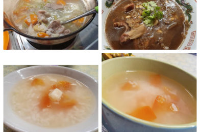 Collection of Rice porridge recipes