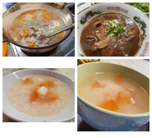 Rice porridge collection