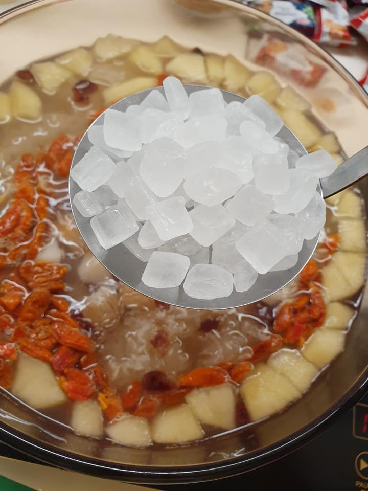 Adding Rock Sugar to 7 Treasure Tong Sui