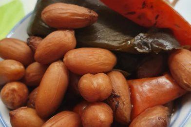 Braise Peanuts with Teriyaki Sauce