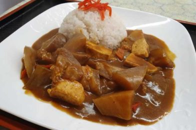 Meatless Japanese Curry Rice