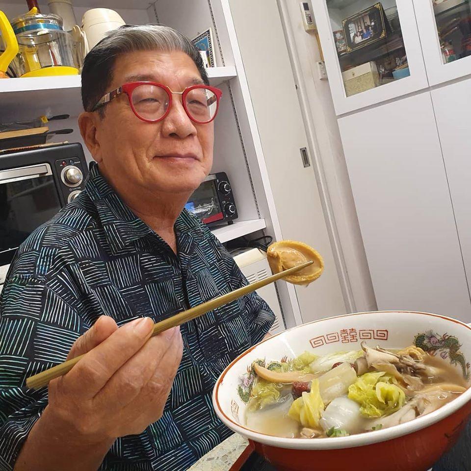 Samurai enjoying his abalone