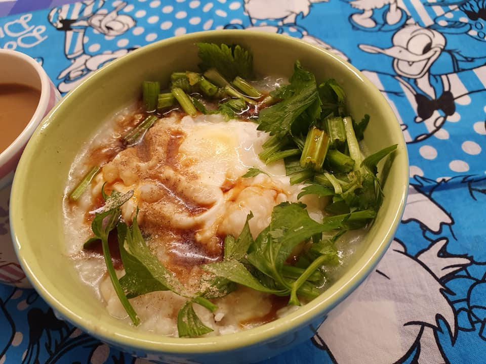 A light meal I cooked for my beloved Samurai