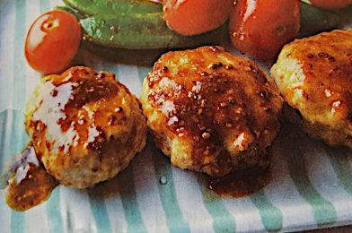 Japanese flavoured Mini Chicken Burger