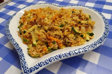 Special Zucchini Canned Sardine Fried Rice