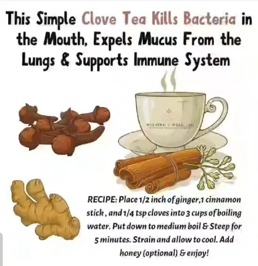 Clove Tea Recipe