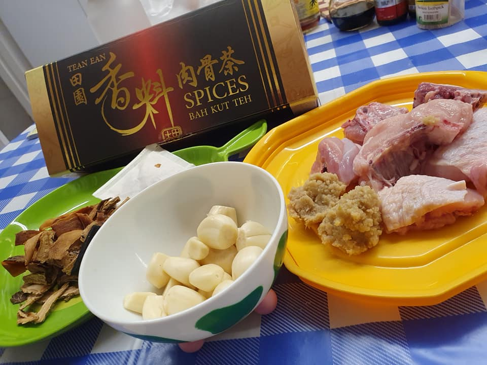 Ingredients for  Chicken Bak Kut Teh