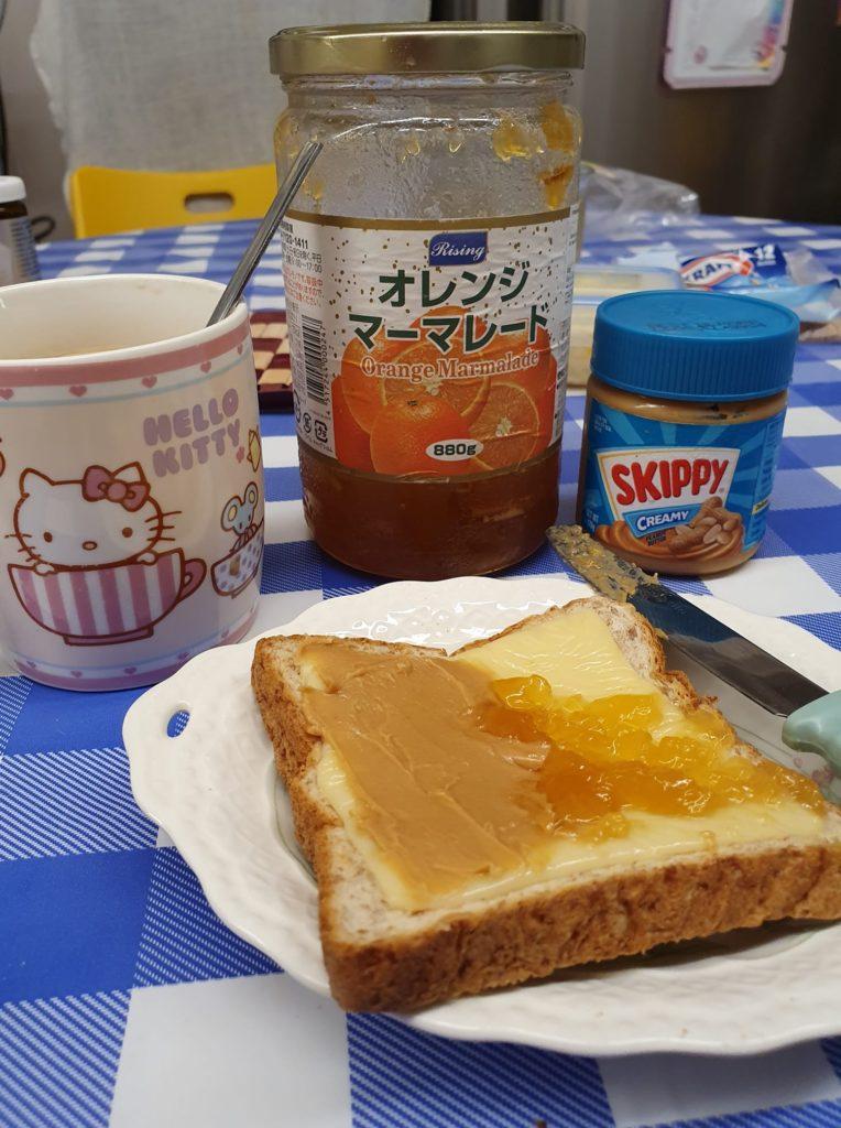 My breakfast set